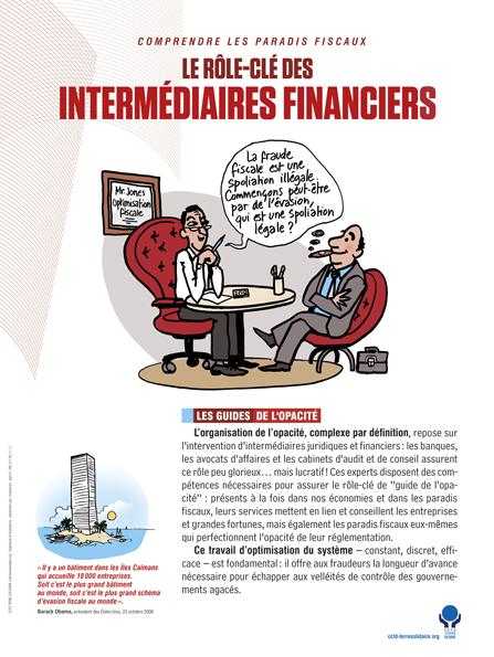 CCFD Expo Paradis fiscaux